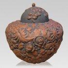Earthen Ceramic Cremation Urn