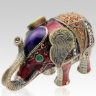 Elephant Keepsake Urn