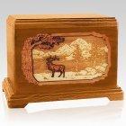 Elk Mahogany Hampton Cremation Urn
