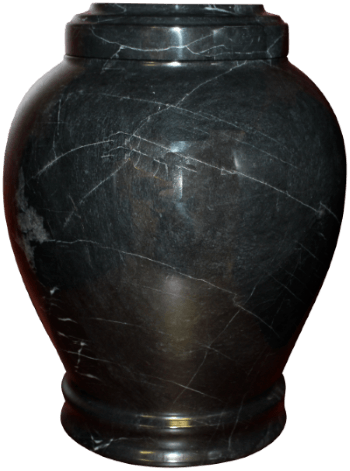 Embrace Ebony Marble Cremation Urn