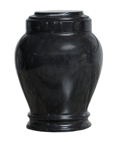 Embrace Ebony Marble Keepsake Urn