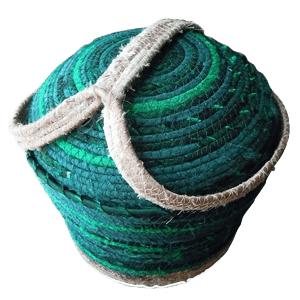 Emerald Cotton Cremation Urn