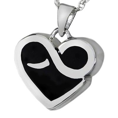 Endless Heart Cremation Pendant