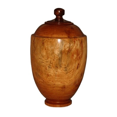 Estate Wood Cremation Urn