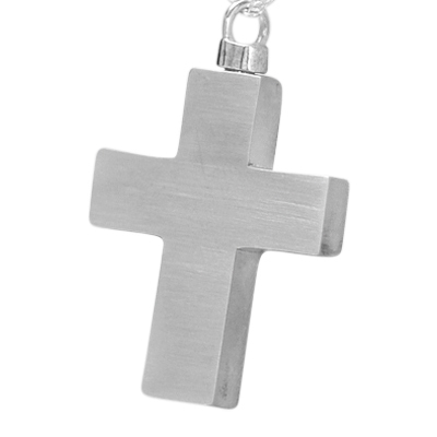 Eternal Cross Cremation Necklace
