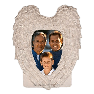 Eternal Guardian Angel Photo Frame