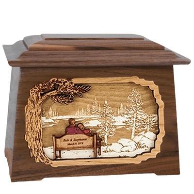 Eternally Walnut Aristocrat Cremation Urn