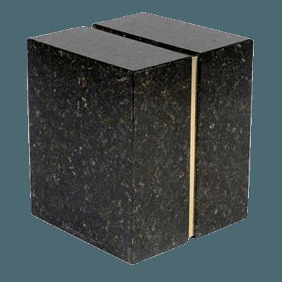 Eternitas Verde Granite Companion Urn