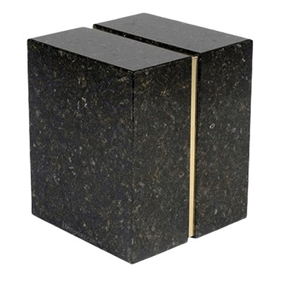 Eternitas Verde Granite Companion Urn