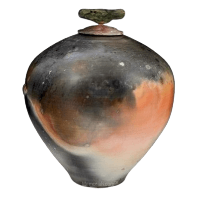 Eternity Raku Cremation Urn For Two