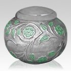Ethereal Green Cremation Urn