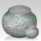 Ethereal Green Cremation Urns