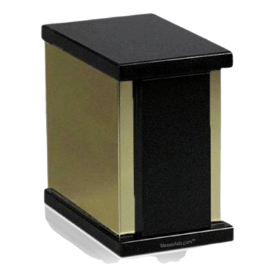 Ethinity Nero Granite Cremation Urn