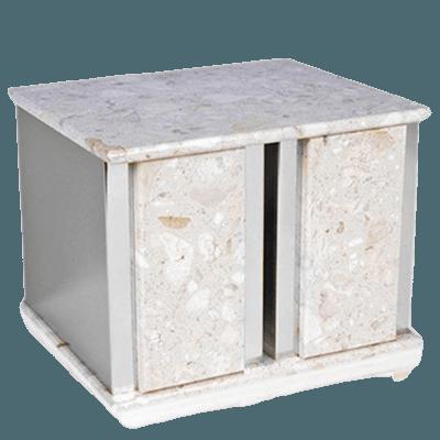 Ethinity Silver Perlato Companion Urn