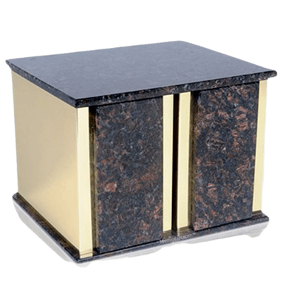Ethinity Tan Brown Granite Companion Urn