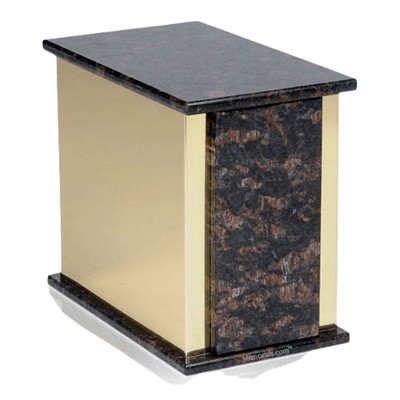 Ethinity Tan Brown Granite Cremation Urns