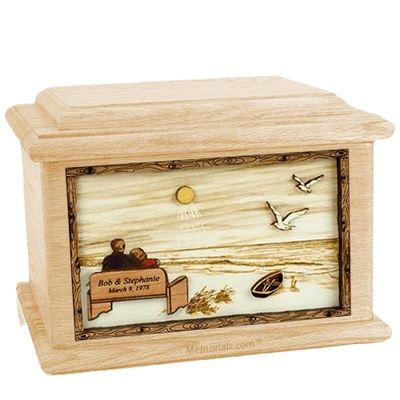 Evermore Maple Memory Chest Cremation Urn