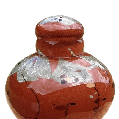 Milky Way Glass Cremation Urn