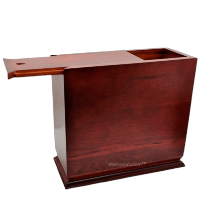 Exiguous Wood Cremation Urn