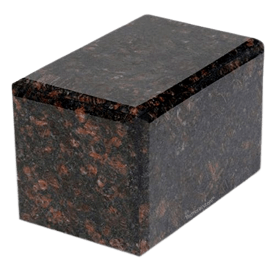 Expressions Tan Brown Granite Urn