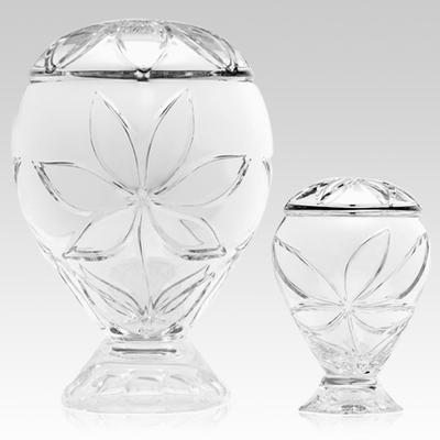 Exquisite Glass Cremation Urns