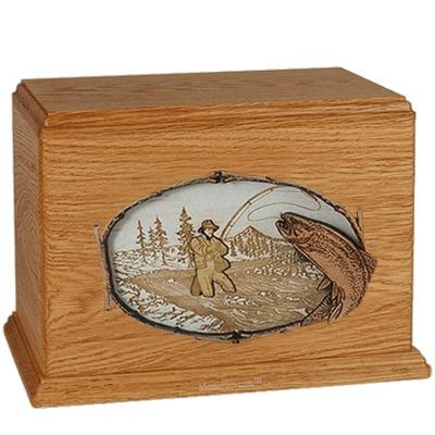 Fisherman Mahogany Companion Urn