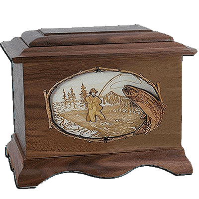 Fisherman Cremation Urns For Two