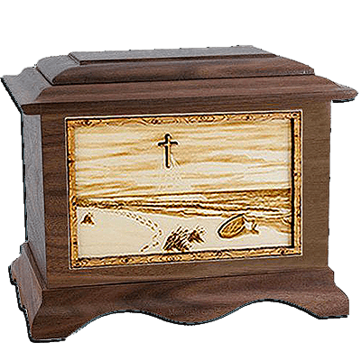 Footprints Cremation Urns For Two