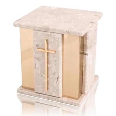 Foresta Perlato Marble Cremation Urns