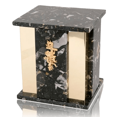 Foresta Cambrian Black Granite Urn