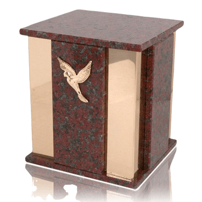Foresta African Red Marble Cremation Urn