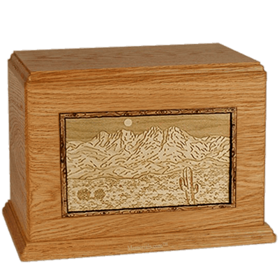 Four Peaks Mahogany Companion Urn