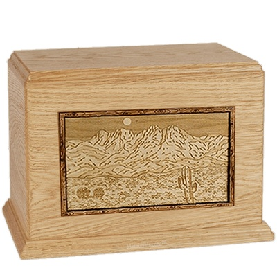 Four Peaks Maple Cremation Urns For Two