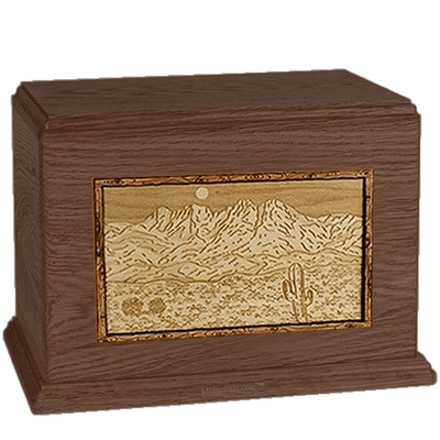 Four Peaks Walnut Companion Urn