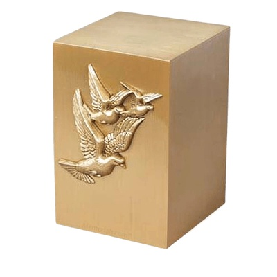 Faith Bronze Cremation Urn
