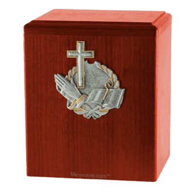 Faith Cherry Cremation Urn