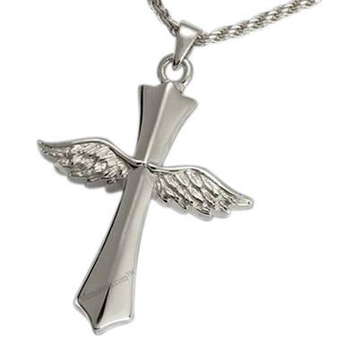 Faith Cross Cremation Pendant