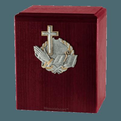 Faith Rosewood Cremation Urn
