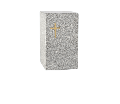 Faithful Grey Cremation Urn