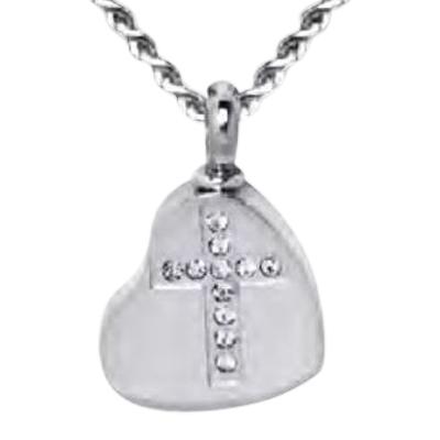 Faithful Heart Keepsake Pendant