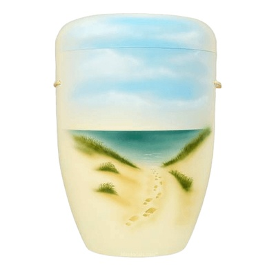 Feet in the Sand Biodegradable Urn