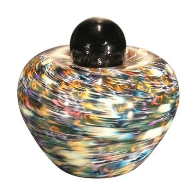 Feliche Glass Small Cremation Urn