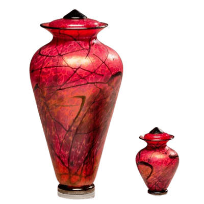 Fenix Glass Cremation Urns