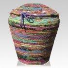 Fiesta Cotton Cremation Urn
