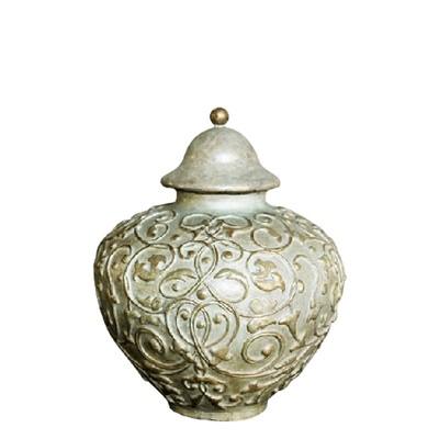 Filigree Medium Bronze Cremation Urn