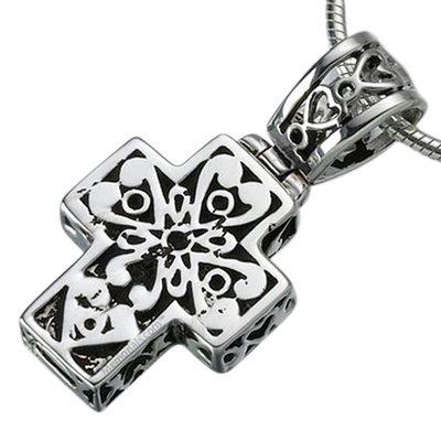 Filigree Cross Ash Jewelry