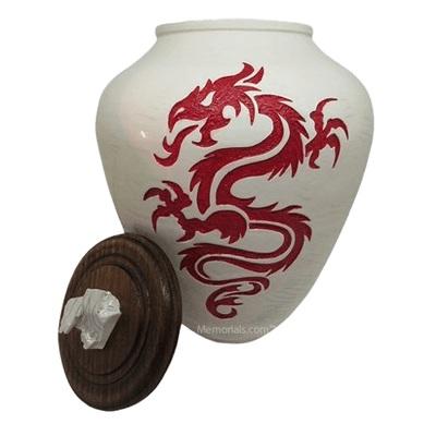 Fire Dragon Cremation Urn