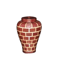Fitzgerald Medium Wood Urn