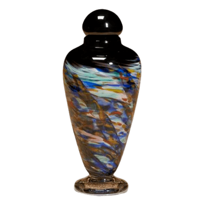 Fluidity Glass Cremation Urn