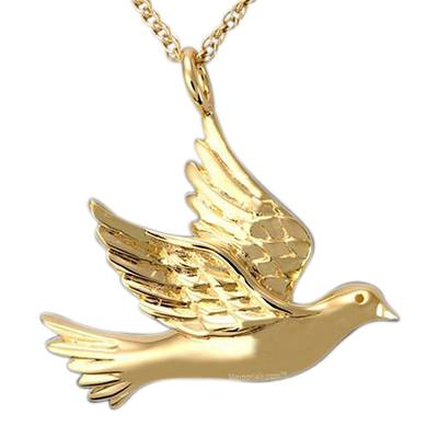 Flying Dove Cremation Pendant IV